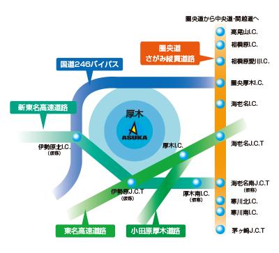 広域地図イメージ